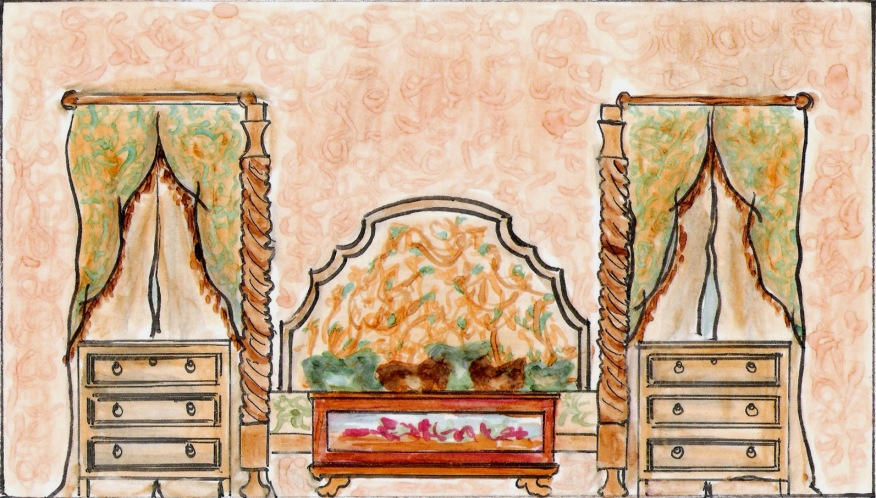 Italian Renaissance Bedroom