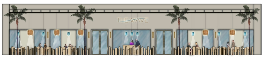 The Wave Exterior Elevation